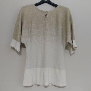 Gold&White Half Sleeve, Large
